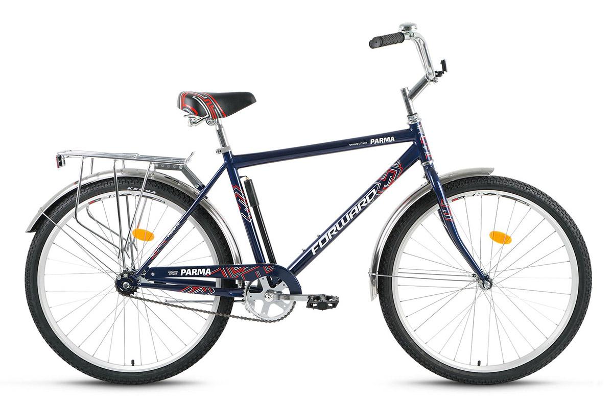 Велосипед Forward Parma 1.0 (2017) синий 18.5