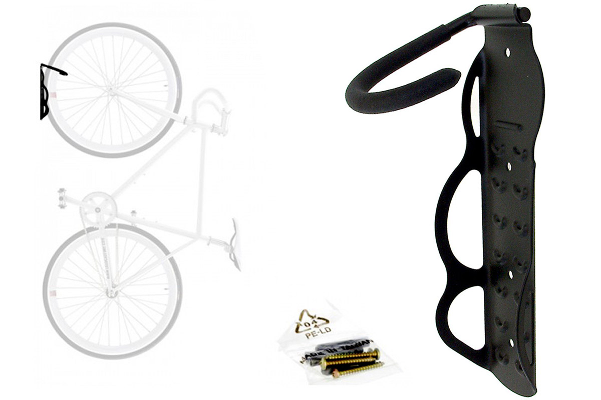 Крюк для хранения велосипеда BikeHand YC-101 чёрныйХРАНЕНИЕ<br><br><br>бренд: BIKE HAND<br>год: Всесезонный<br>рама: None<br>вилка: None<br>блокировка амортизатора: None<br>диаметр колес: None<br>тормоза: None<br>уровень оборудования: None<br>количество скоростей: None<br>Цвет: чёрный<br>Размер: None