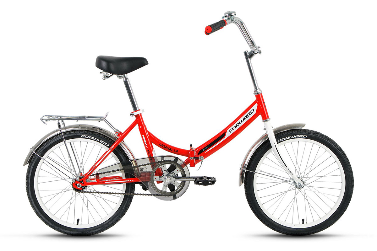 Велосипед Forward Arsenal 1.0 (2017) желтый 14ГОРОДСКИЕ СКЛАДНЫЕ<br><br><br>бренд: FORWARD<br>год: 2017<br>рама: Сталь (Hi-Ten)<br>вилка: Жесткая (сталь)<br>блокировка амортизатора: Нет<br>диаметр колес: 20<br>тормоза: Ножной ( Coaster brake)<br>уровень оборудования: Начальный<br>количество скоростей: 1<br>Цвет: желтый<br>Размер: 14