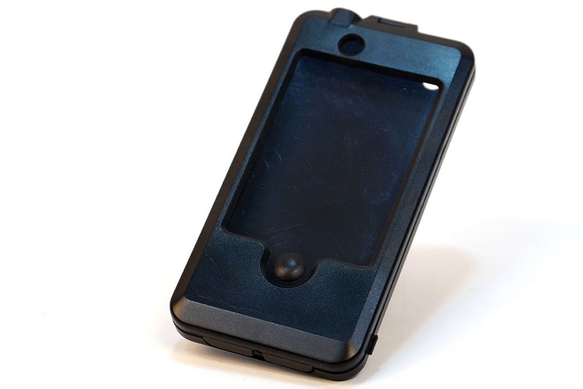Водозащитный держатель-кейс с креплением на руль для iPhone 4 Vinca Sport чёрный