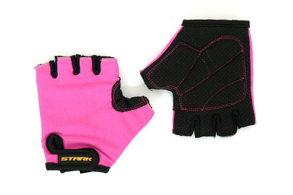 Велоперчатки Stark NC-688 розовые -ПЕРЧАТКИ<br>Детские перчатки с открытыми пальцами Stark NC-688, мягкие подушечки на внутренней стороне для большего комфорта, дополнительные швы придают большую прочность<br><br>бренд: STARK<br>год: Всесезонный<br>рама: None<br>вилка: None<br>блокировка амортизатора: None<br>диаметр колес: None<br>тормоза: None<br>уровень оборудования: None<br>количество скоростей: None<br>Цвет: -<br>Размер: None