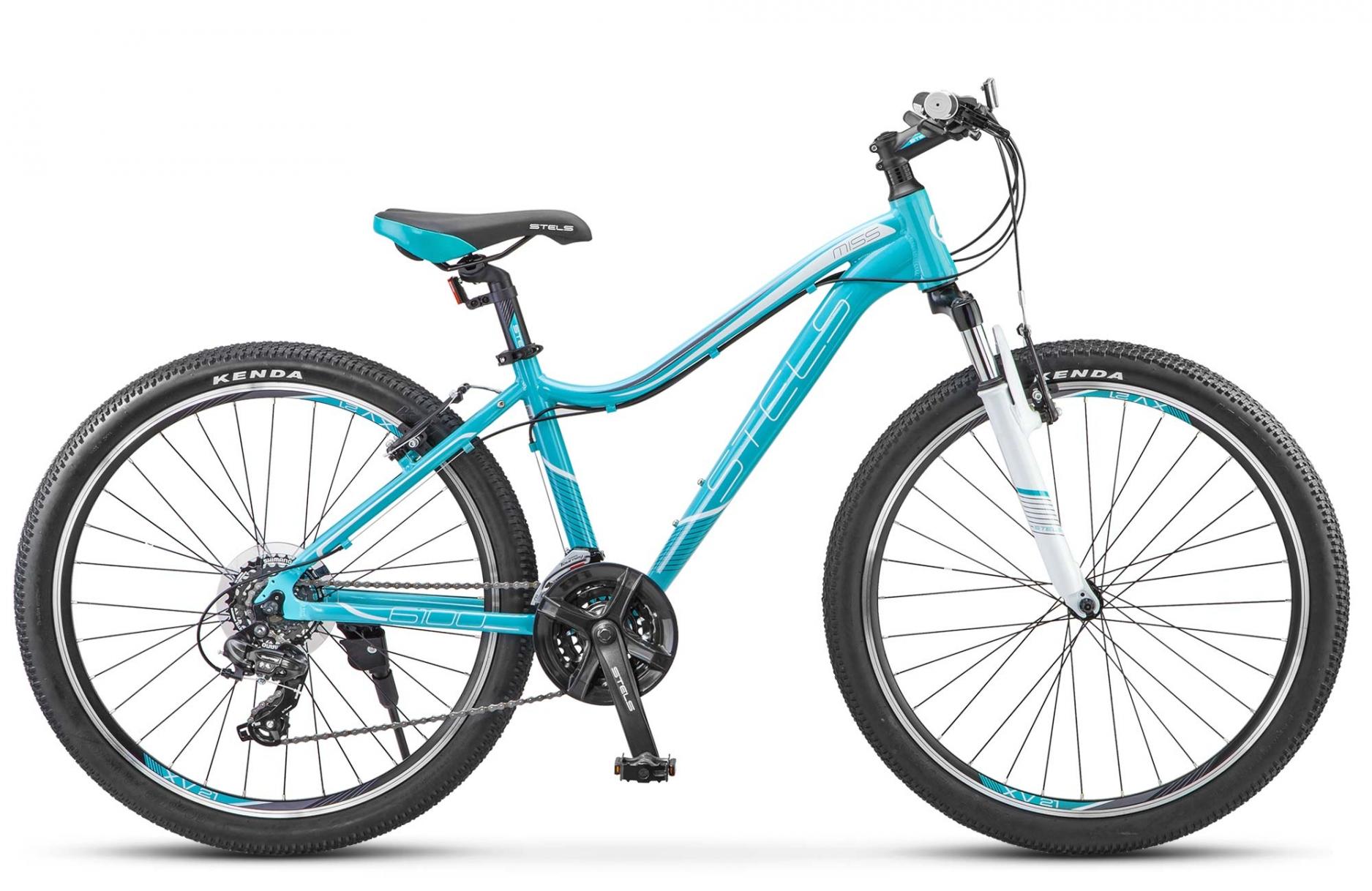 Велосипед Stels Miss 6100 V 26 2018 бирюзовый 17 д