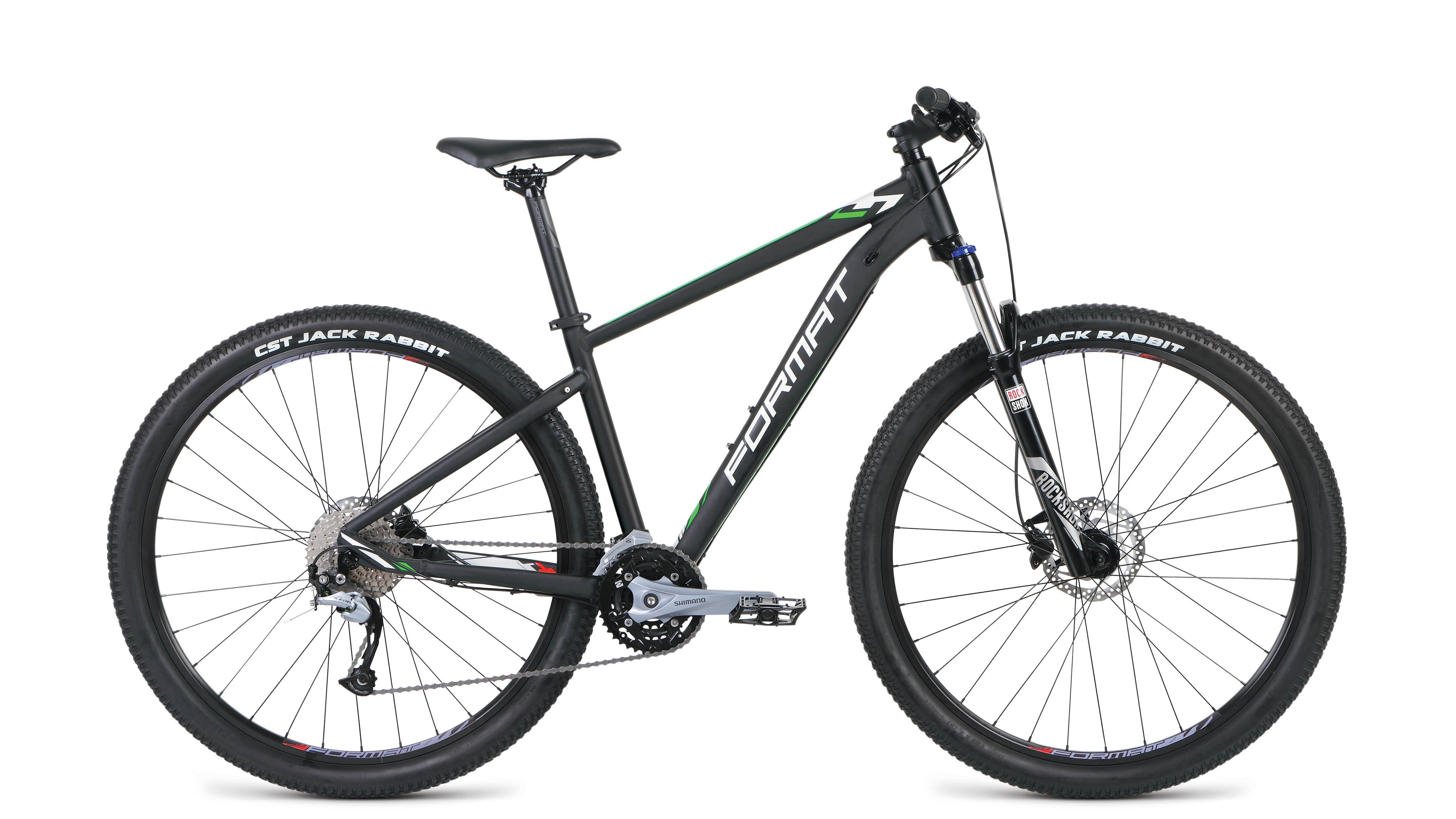 Велосипед FORMAT 1411 29 2019 черный матовый M