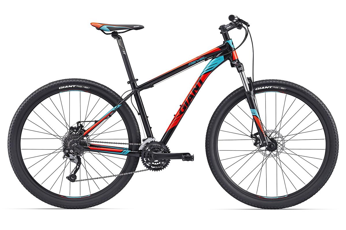 Велосипед Giant Revel 29er 2 2017 черно-красный M