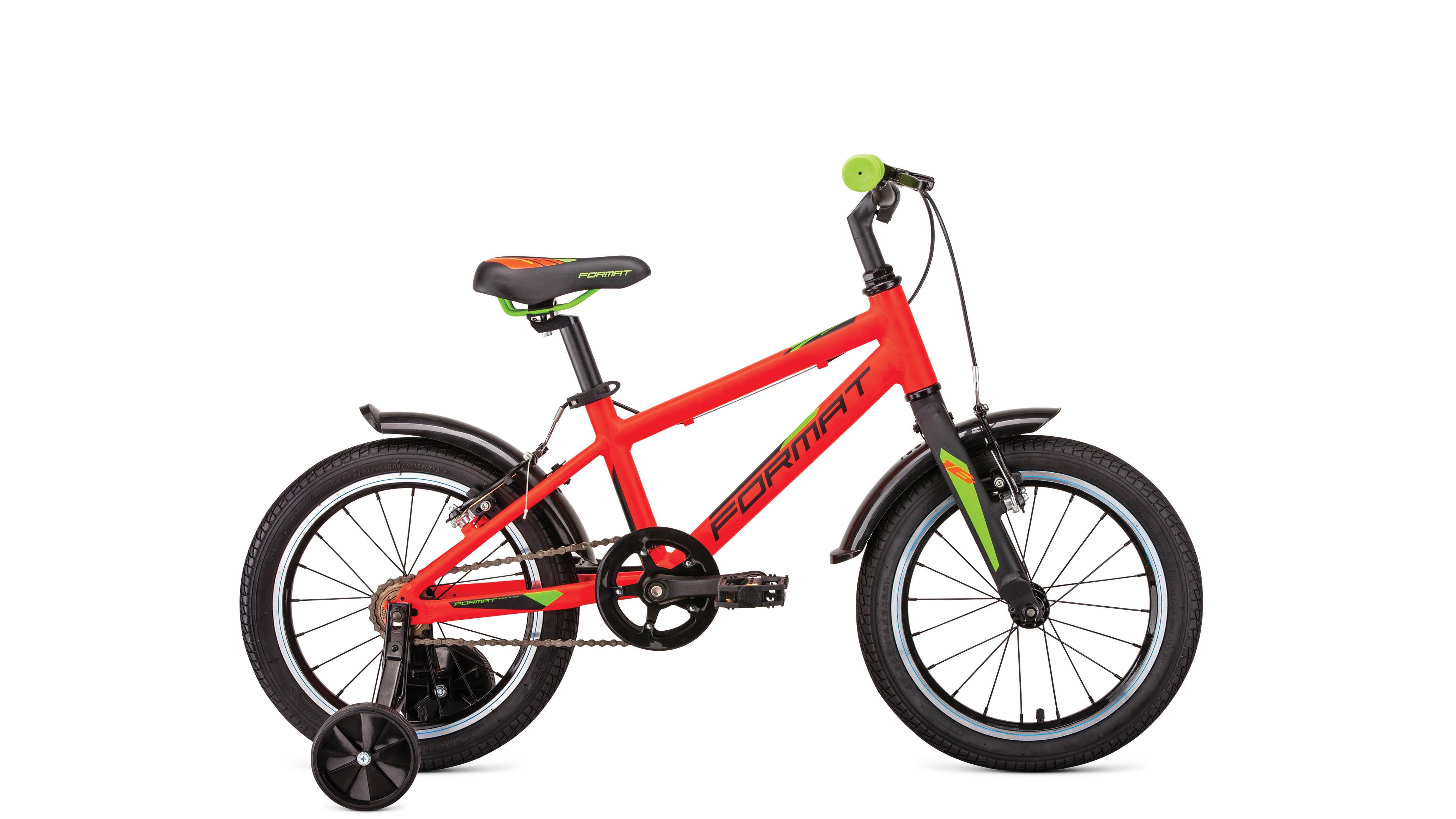 Велосипед Format kids 16 2019 красный матовый one size