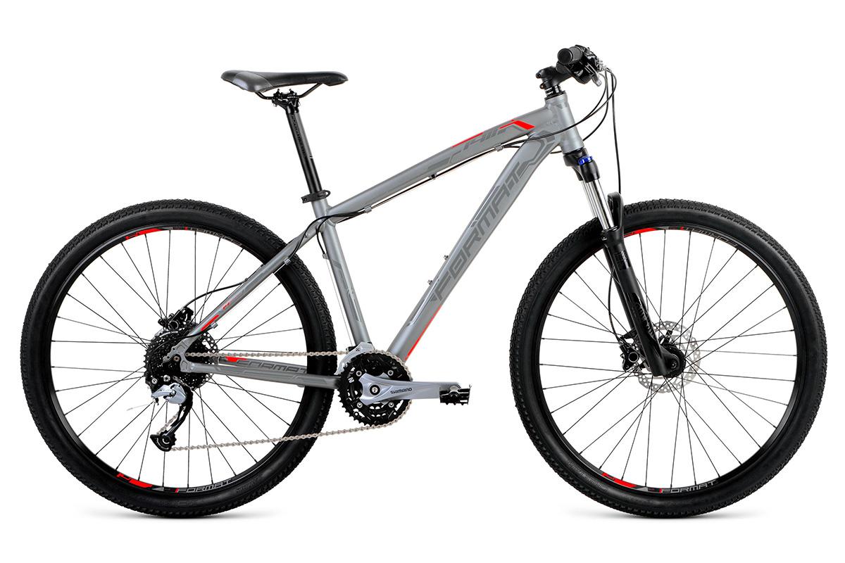 Велосипед Format 1411 27.5 2018 серый матовый S