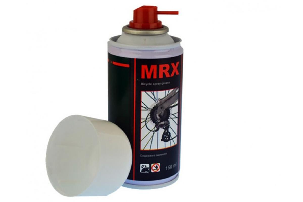 Смазка-аэрозоль MRX-150 (BIC-535) -СРЕДСТВА ПО УХОДУ<br>Смазка-аэрозоль MRX-150, для цепи и тросов, 150мл<br><br>бренд: MRX<br>год: Всесезонный<br>рама: None<br>вилка: None<br>блокировка амортизатора: None<br>диаметр колес: None<br>тормоза: None<br>уровень оборудования: None<br>количество скоростей: None<br>Цвет: -<br>Размер: None
