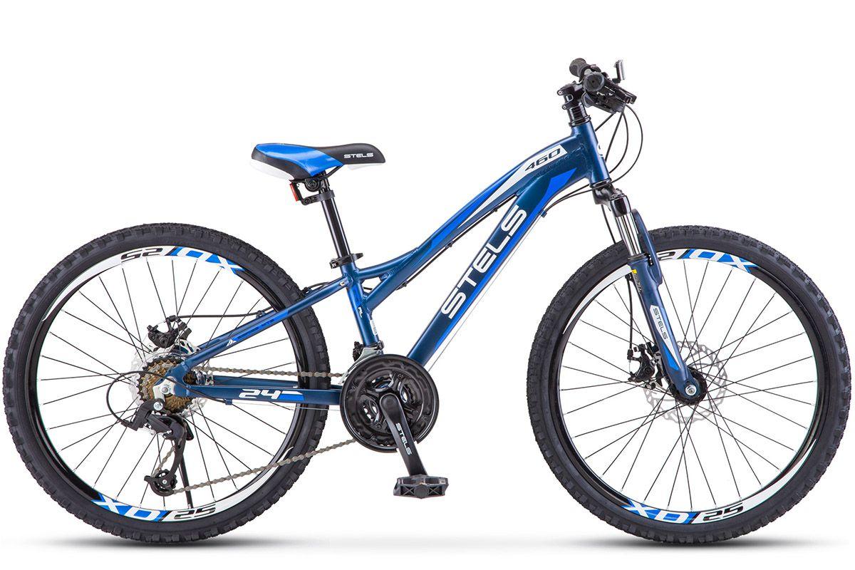 Велосипед Stels Navigator 460 MD 2018 красный 11 д
