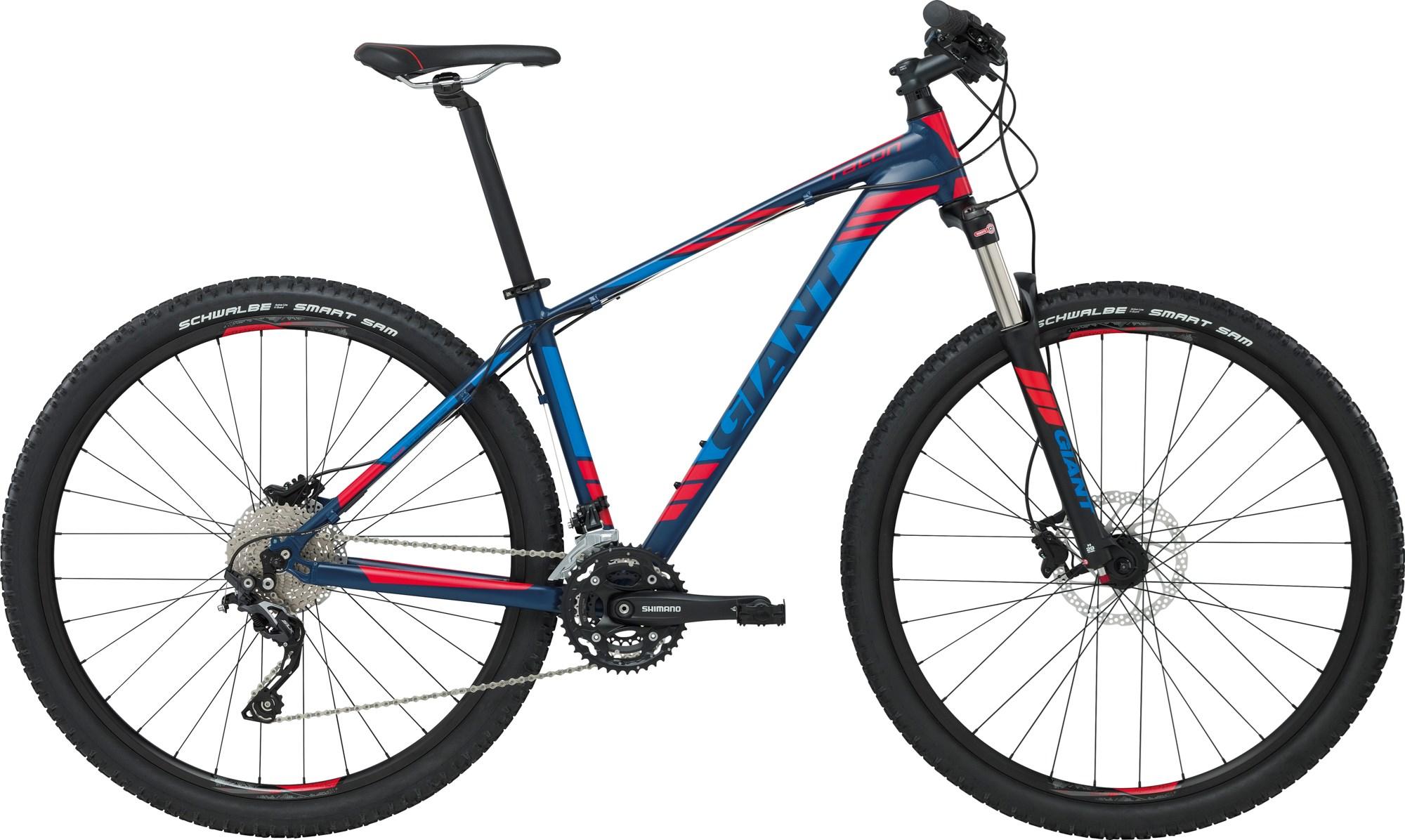 Велосипед Giant Talon 29er 2 LTD 2017 темно-синий-красный M