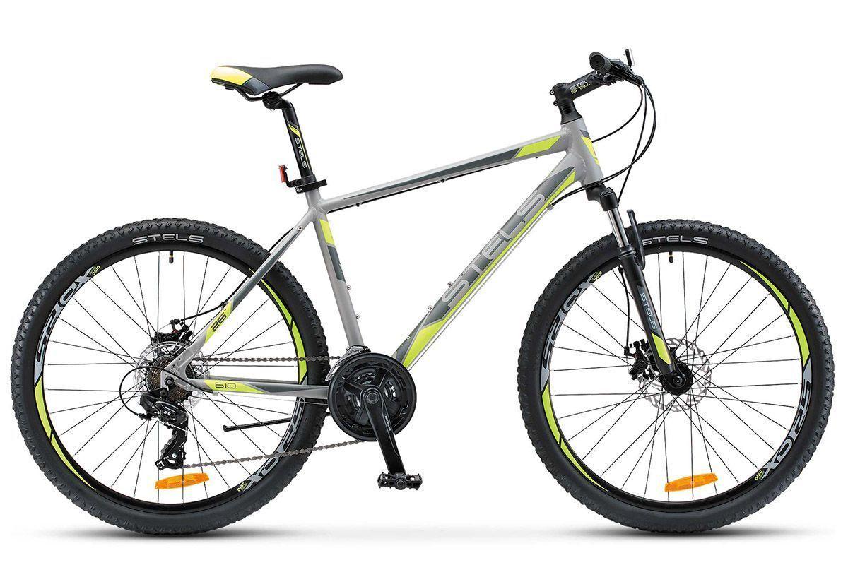 Велосипед Stels Navigator 610 MD 26 (2017) серо-желтый 20