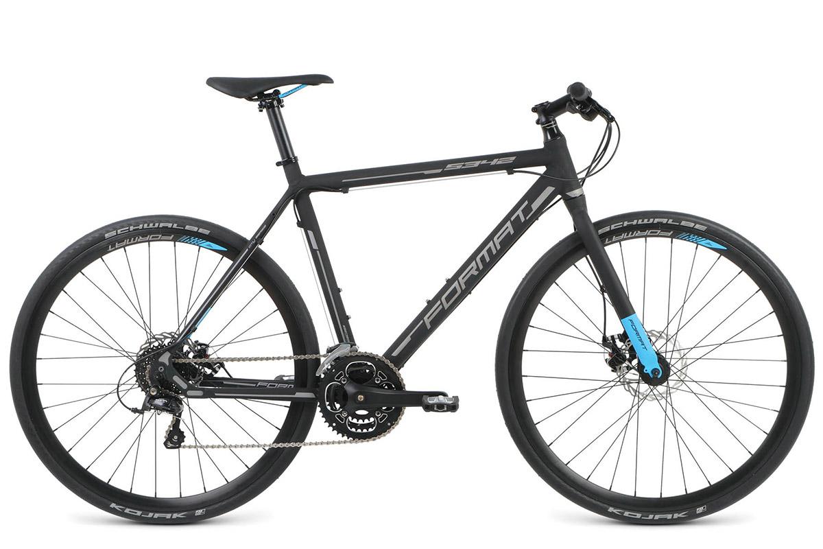Велосипед Format 5342 (2016) черный-матовый 490mm