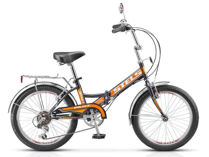 Велосипед Stels Pilot 350 20 2018 фиолетовый 13 д