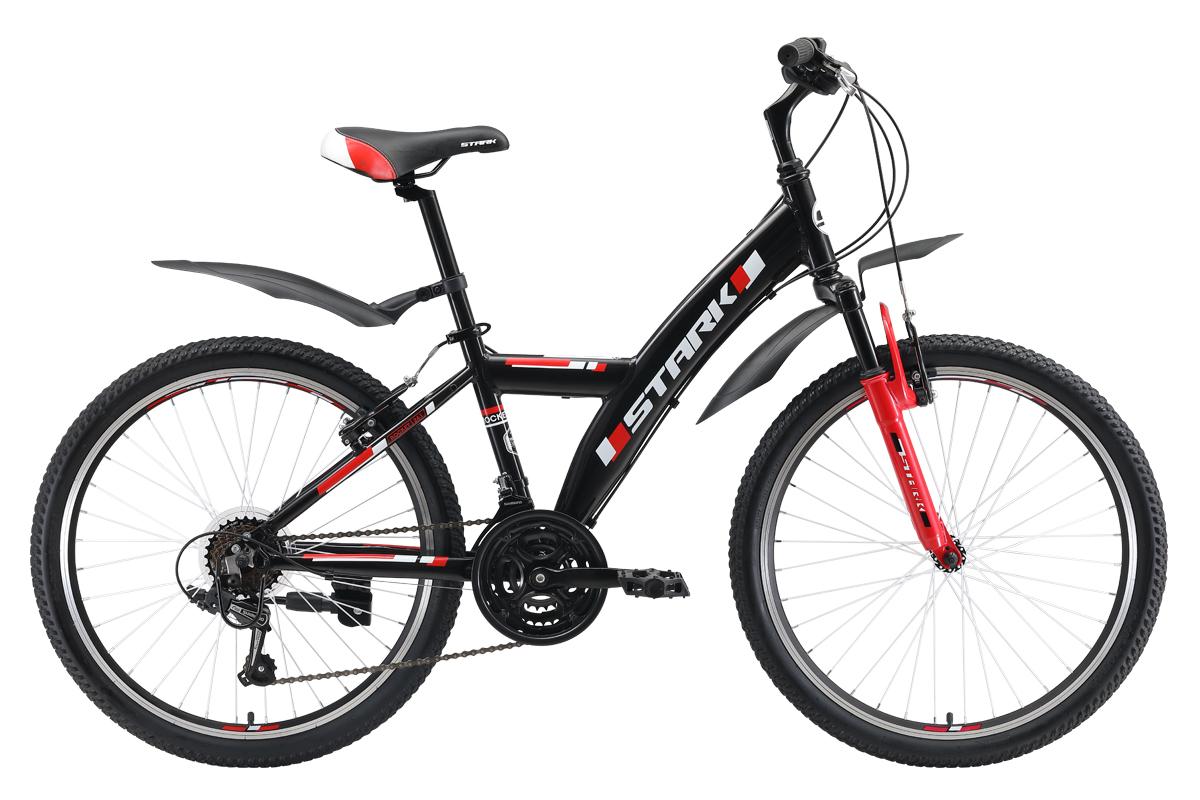 Велосипед Stark Rocket Y 24.1 V 2019 чёрный-красный one size