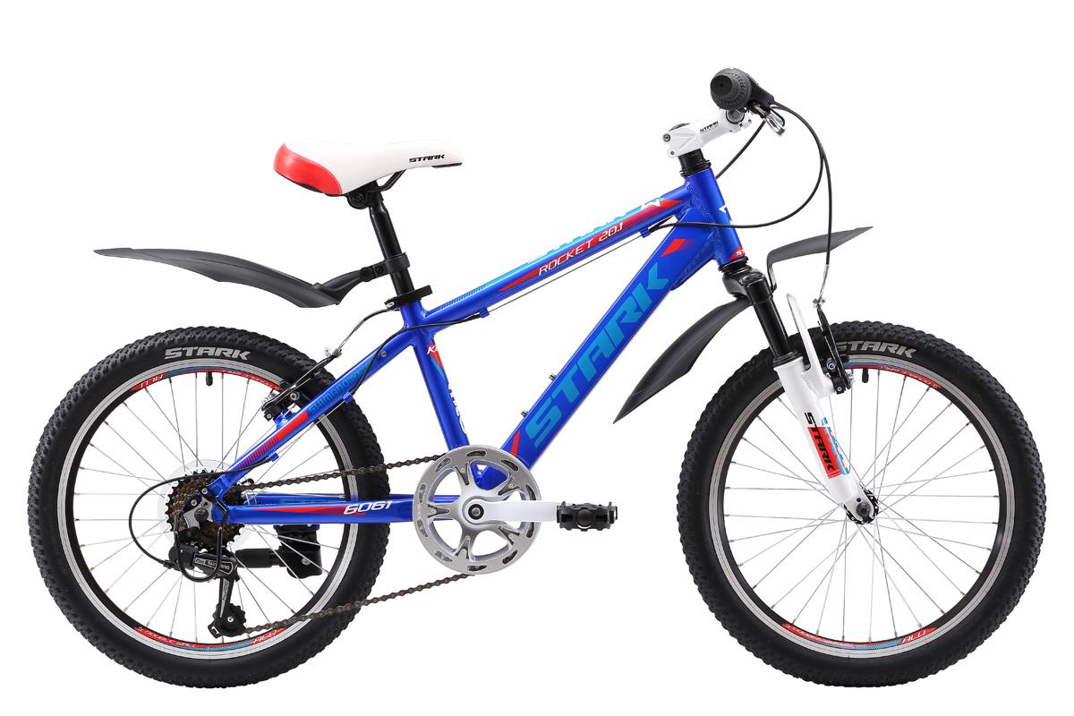 Велосипед Stark Rocket 20.1 V 2017 сине-красный one size