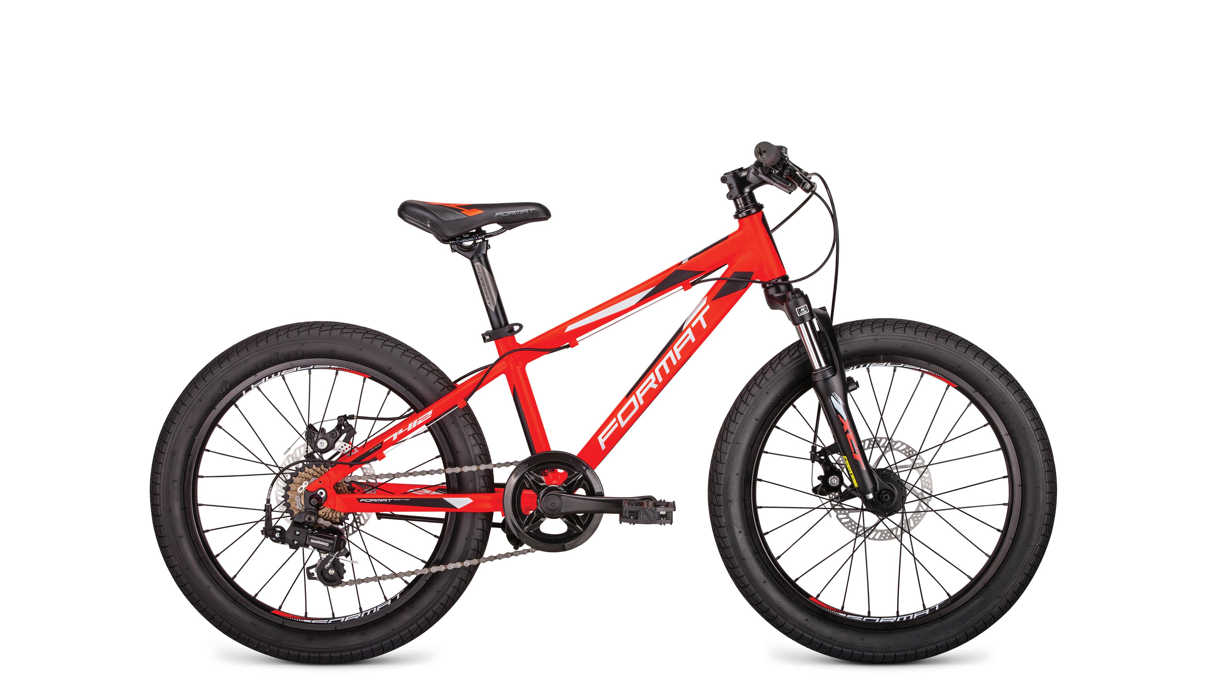 Велосипед FORMAT 7412 2019 красный матовый one size