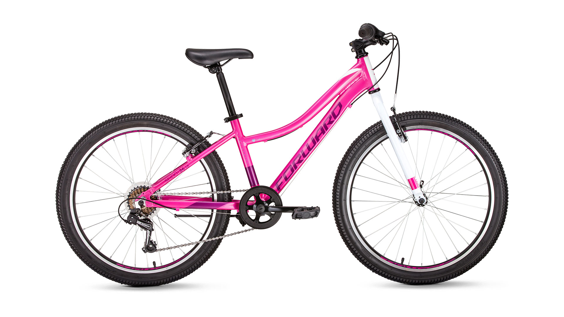 Велосипед Forward Seido 24 1.0 2019 мятный 13 д