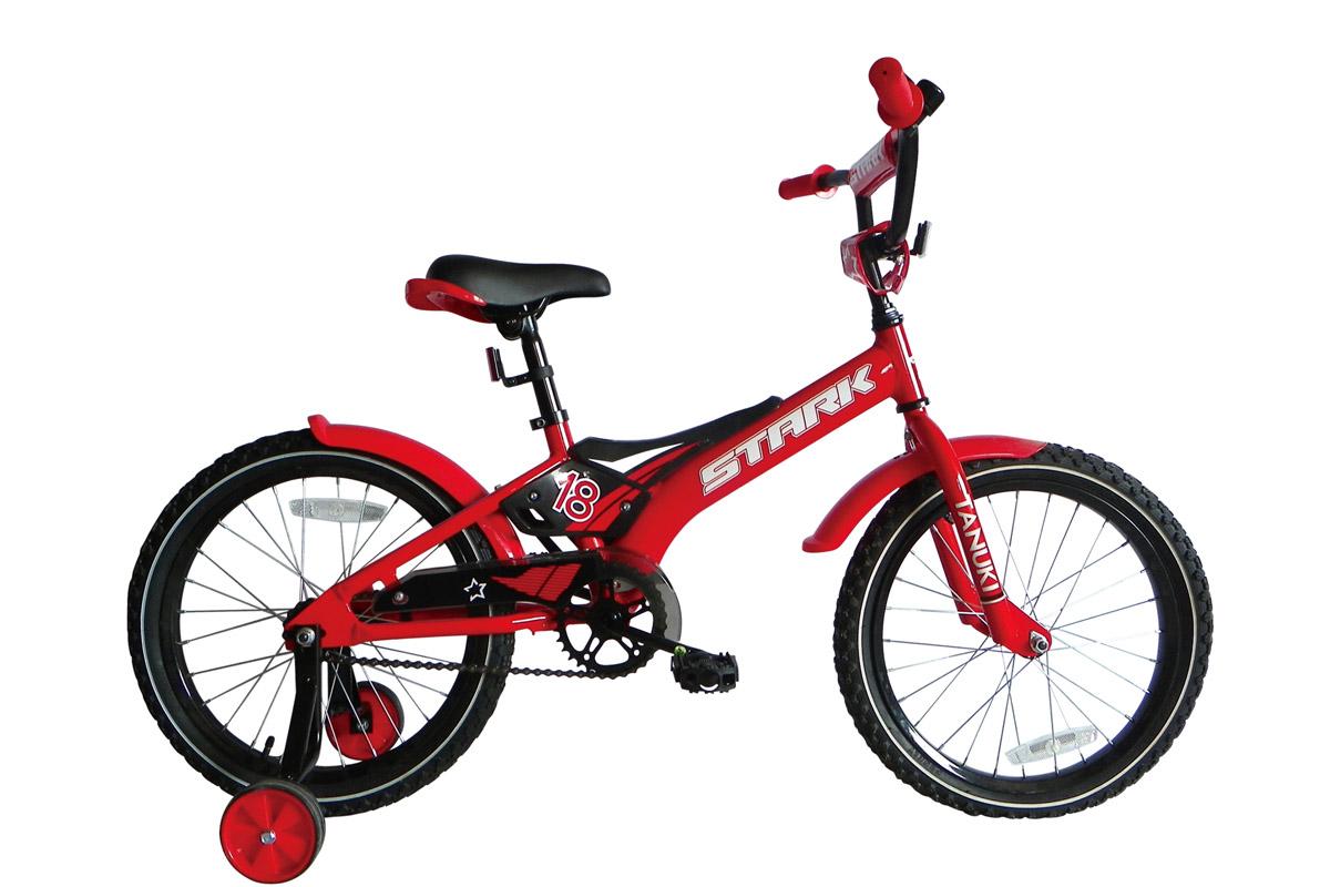 STARK Велосипед Stark Tanuki 18 Boy ST (2017) красно-черный one size велосипед stark tanuki 12 boy 2015
