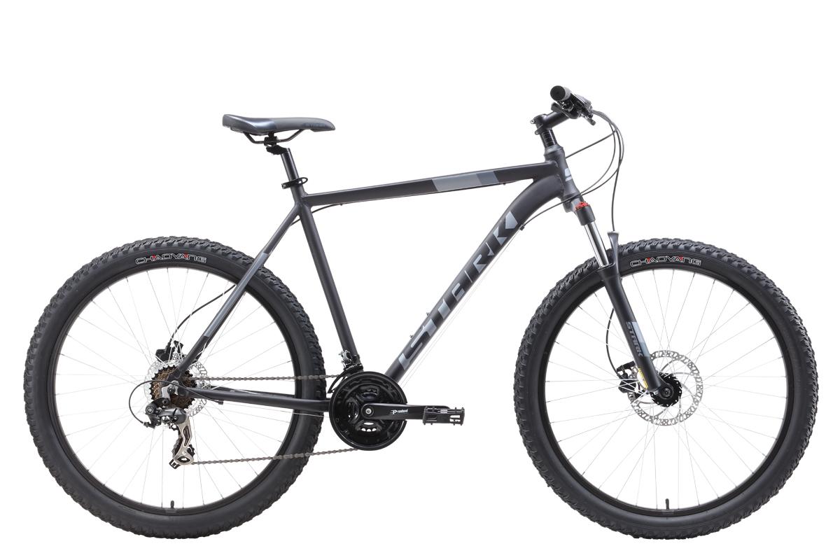 Велосипед Stark Hunter 27.2+HD 2019 чёрный-серый 20 д