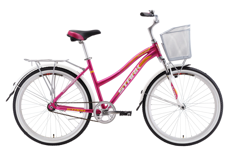 Велосипед Stark Ibiza 26.1 S 2018 розовый-жёлтый-белый 18 д