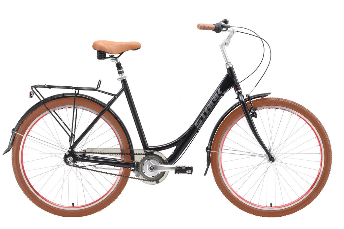 Велосипед Stark Image (2016) черно-серый 18