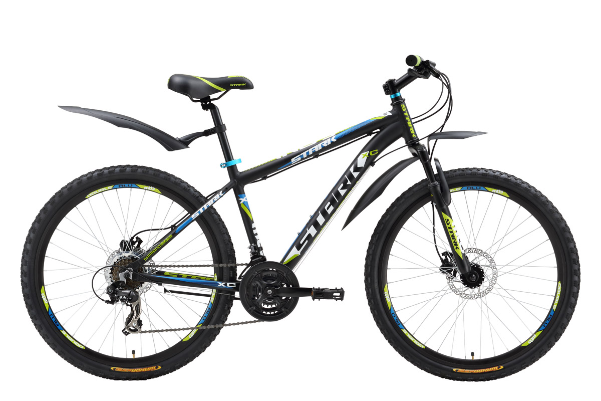 Велосипед Stark Indy HD (2016) черно-синий 18