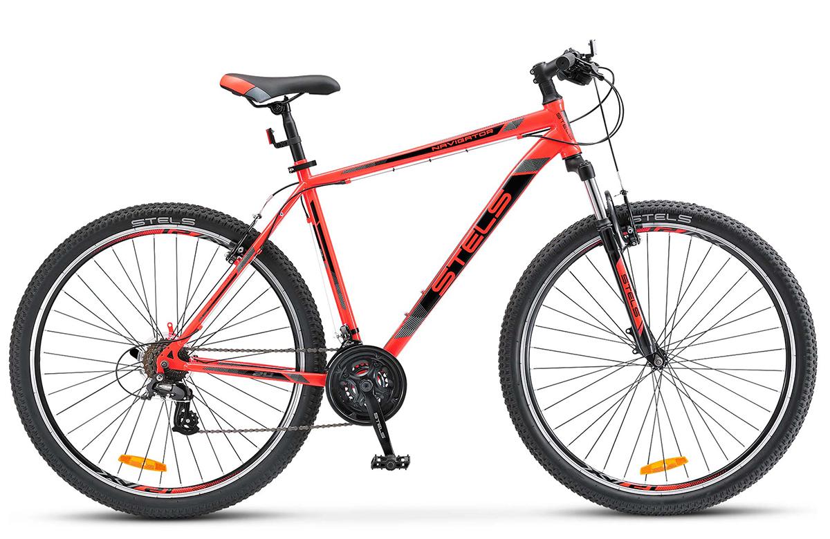 Велосипед Stels Navigator 500 V 29 2017 красный 17.5 д