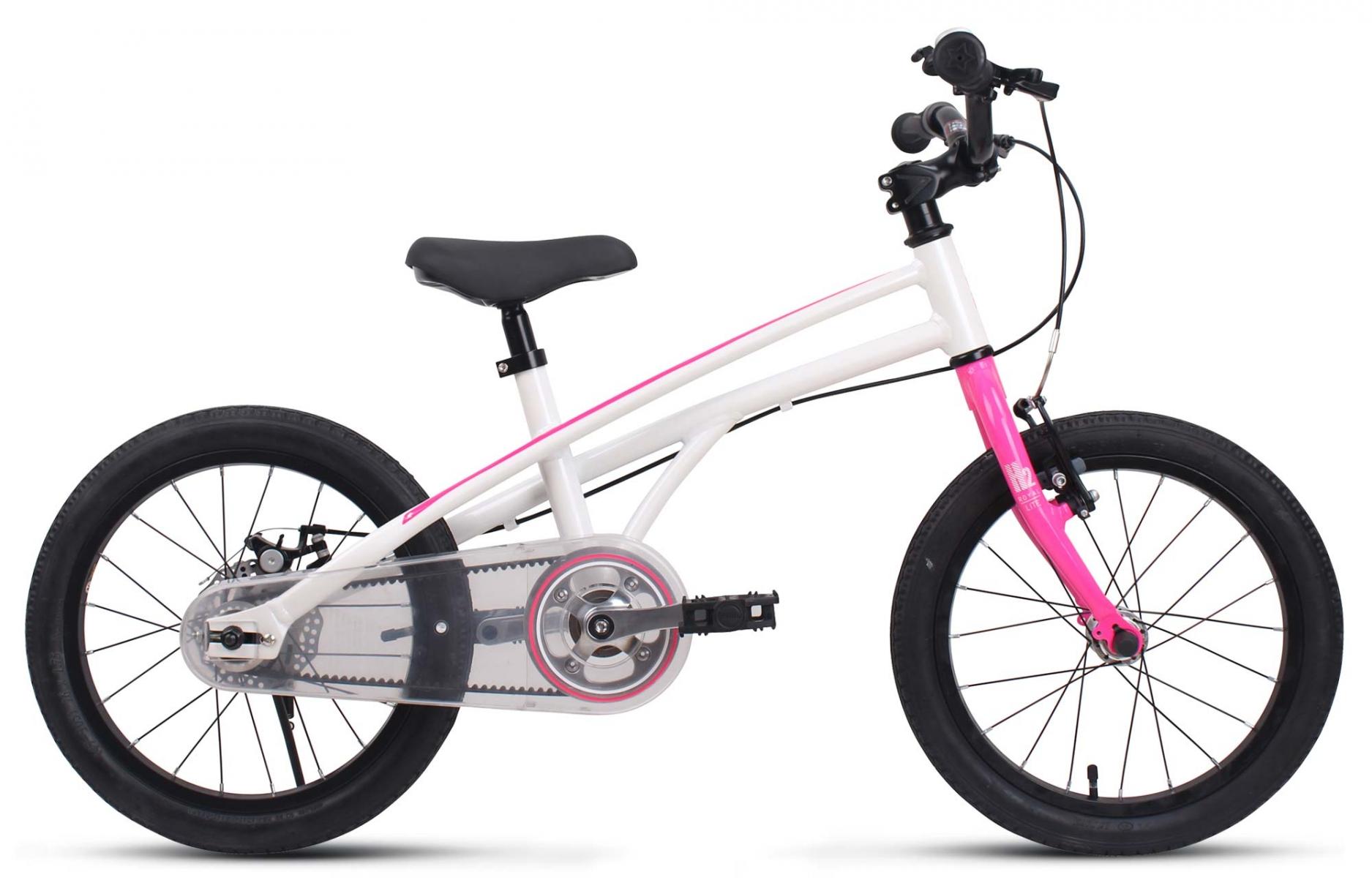 Велосипед Royal Baby H2 All 14 бело-розовый one size