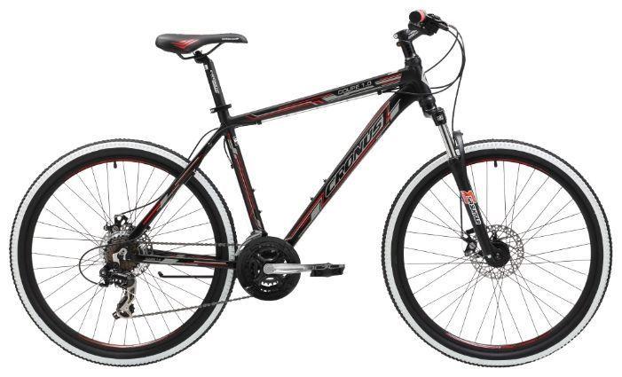 Велосипед Cronus Coupe 1.0 (2016) черно-красный 19