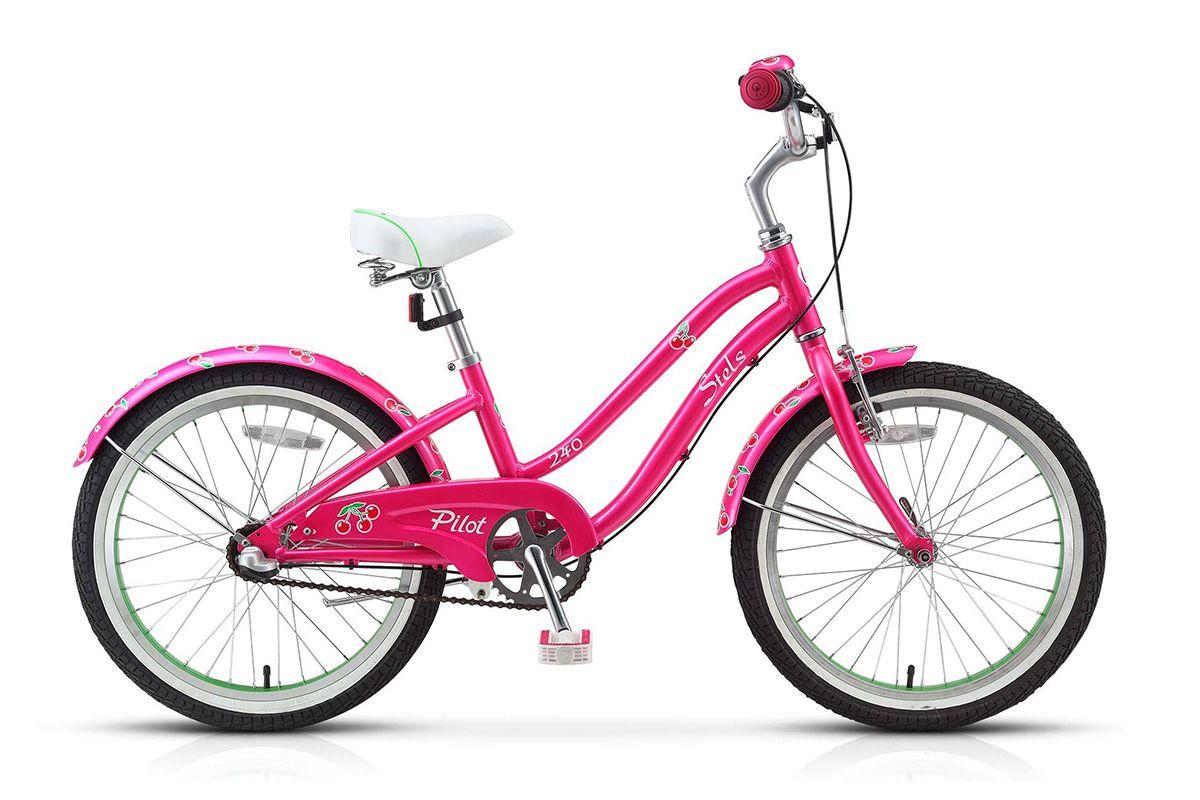 Велосипед Stels Pilot 240 Girl 3 Sp (2015) розово-салатовый 11