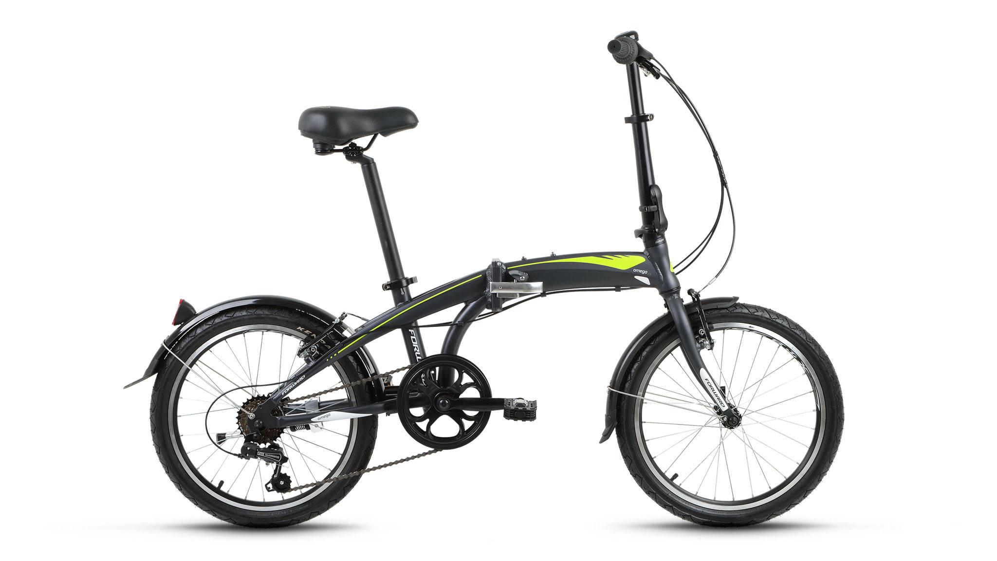 Фото Велосипед Forward Omega 2.0 (2017) зеленый 12