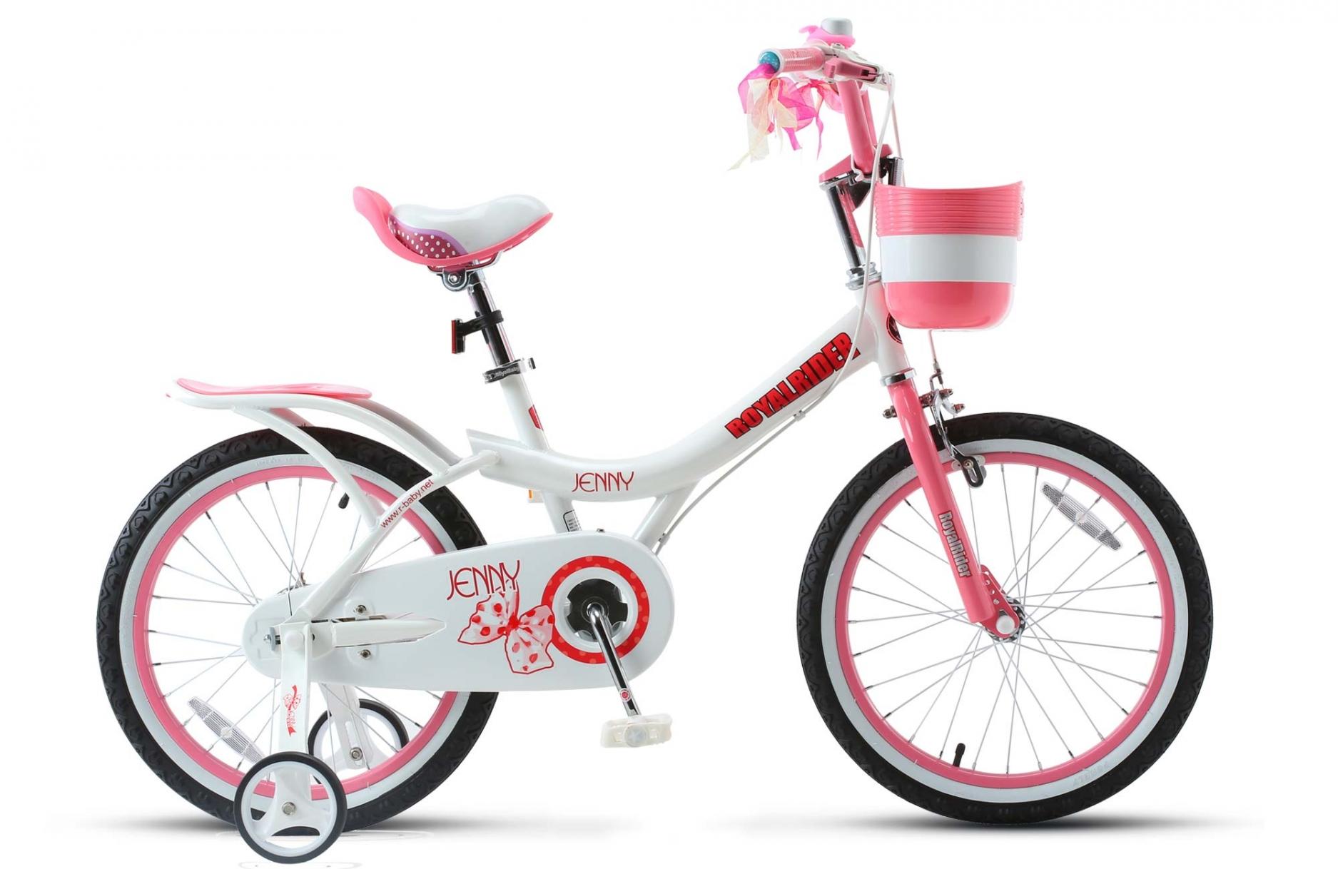 Велосипед Royal Baby Jenny Girl Steel 16 бело-розовый one size