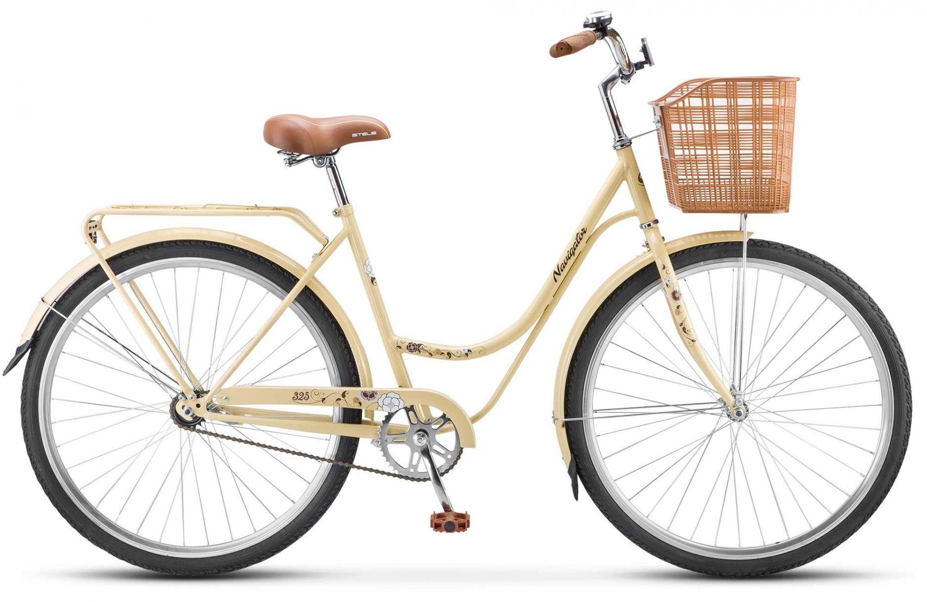 Велосипед Stels Navigator 325 Lady 28 (2018) слоновая-кость/коричневый 20