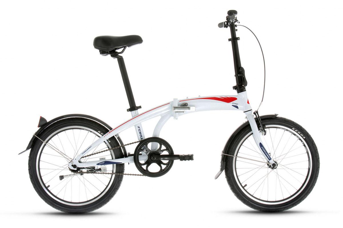 Велосипед Forward Omega 1.0 (2017) белый 12