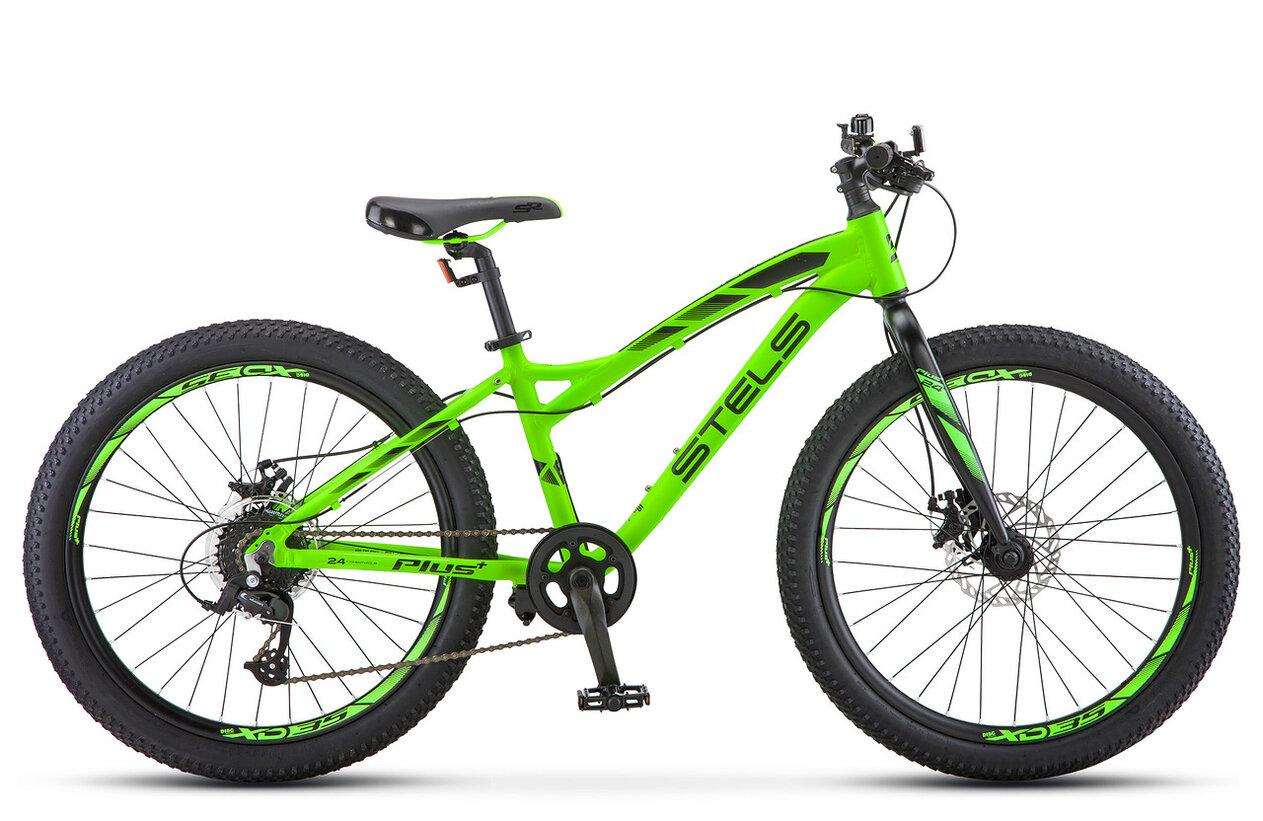 Велосипед Stels Adrenalin MD 24 V010 2019 антрацитовый 13.5 д