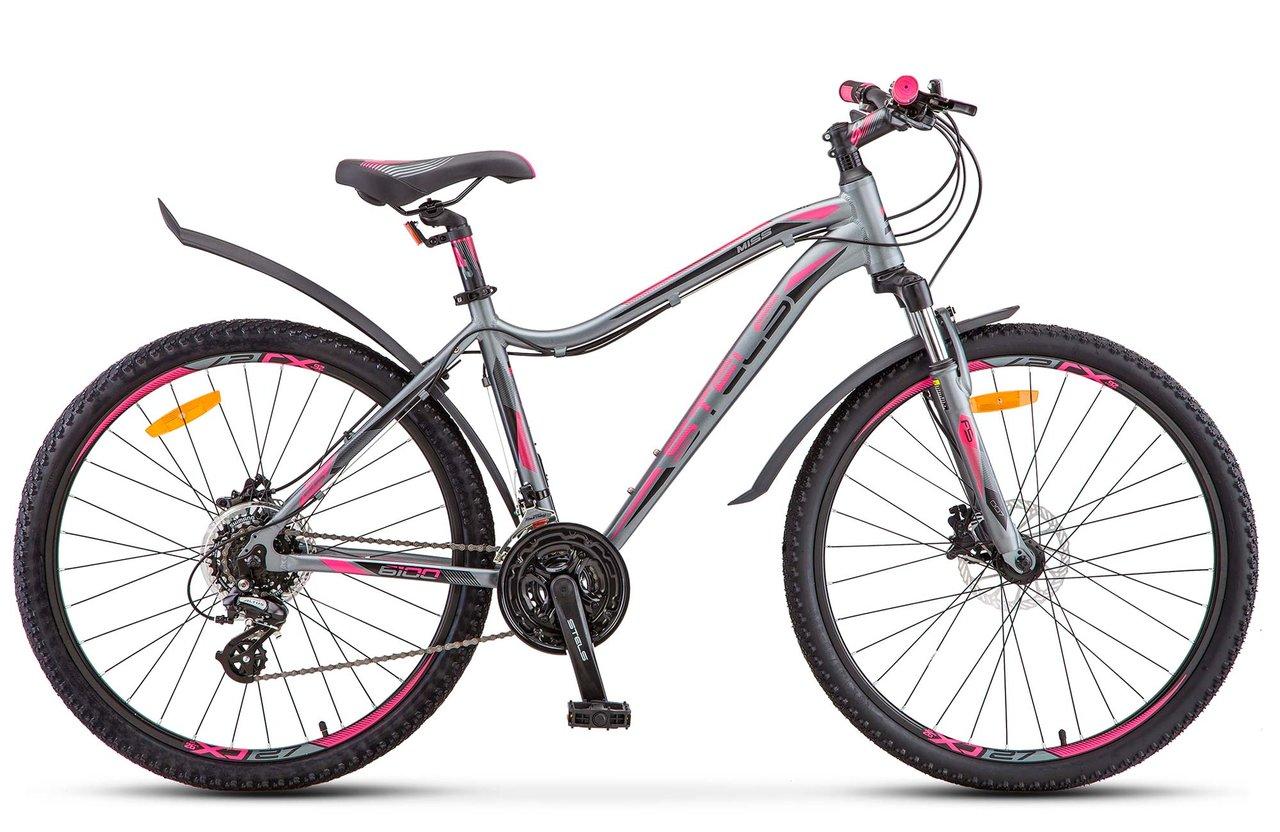 Велосипед Stels Miss 6100 D 26 V010 2019 светло-красный 17 д