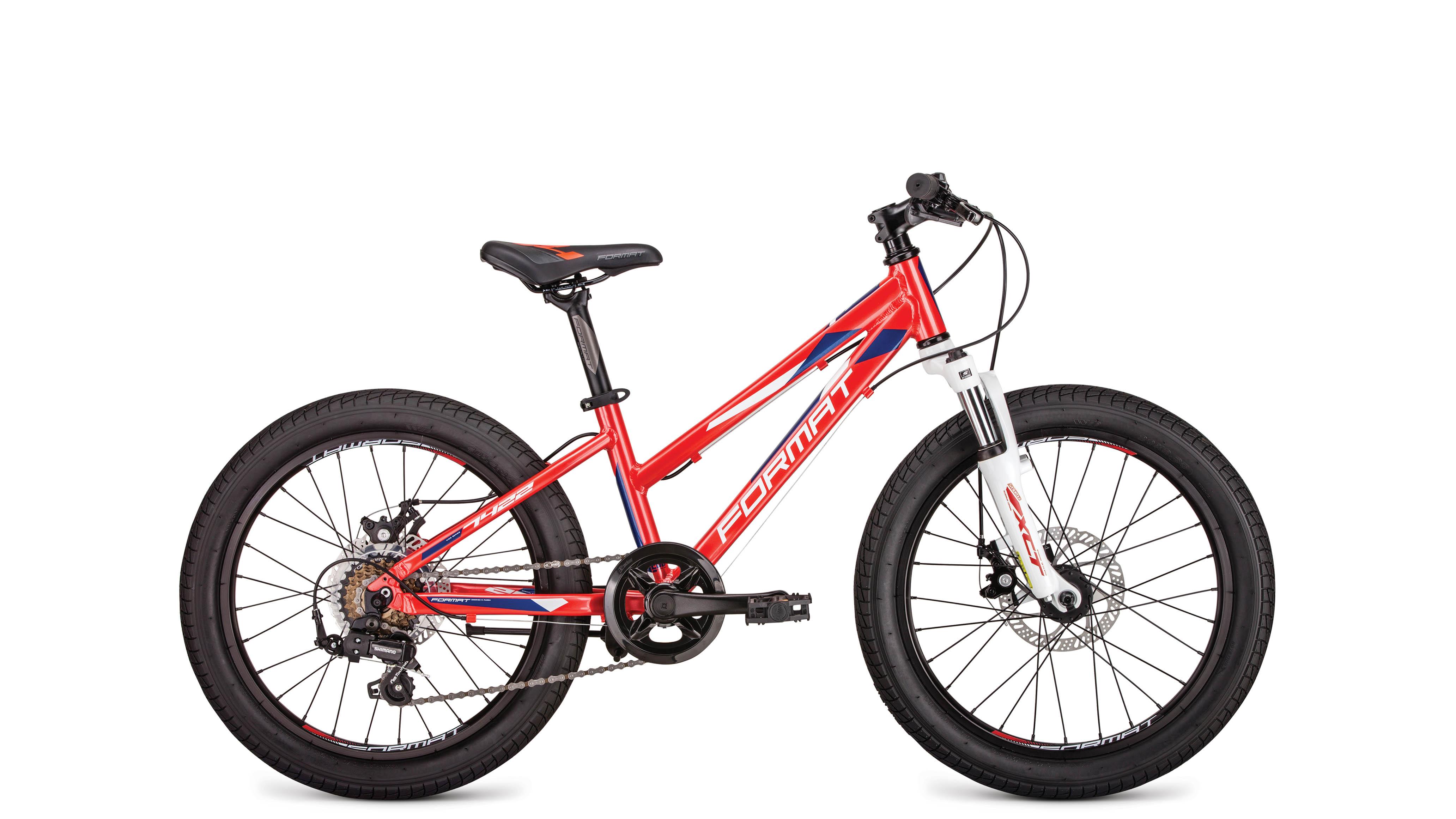 Велосипед Format 7422 2019 красный one size