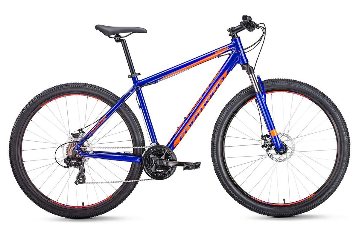 Велосипед Forward Apache 29 2.0 disc 2019 черный матовый 17 д