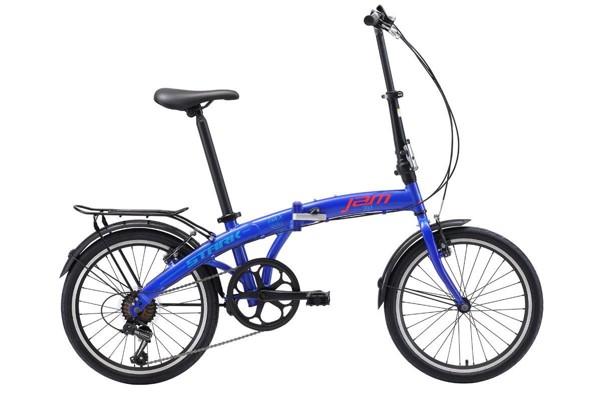 Велосипед Stark Jam 20.1 V 2018 тёмно-синий-красный-голубой one size