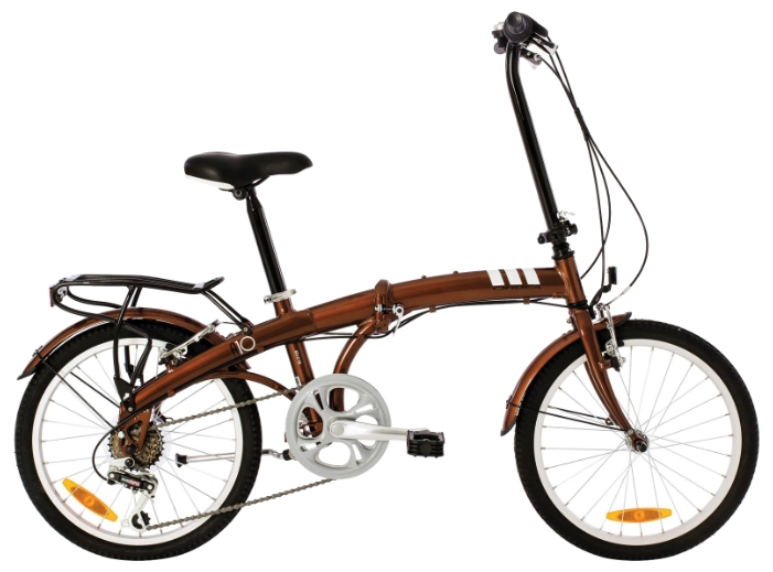 Фото Велосипед Orbea Folding A10 (2015) коричневый one size