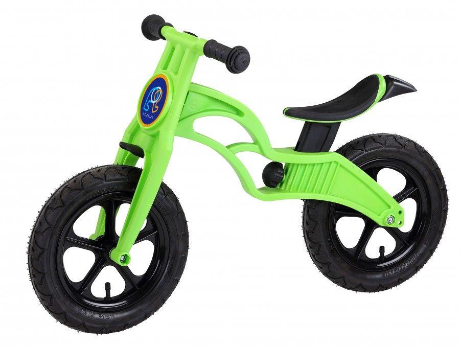 Беговел Popbike Flash 12 2016 зеленый one size