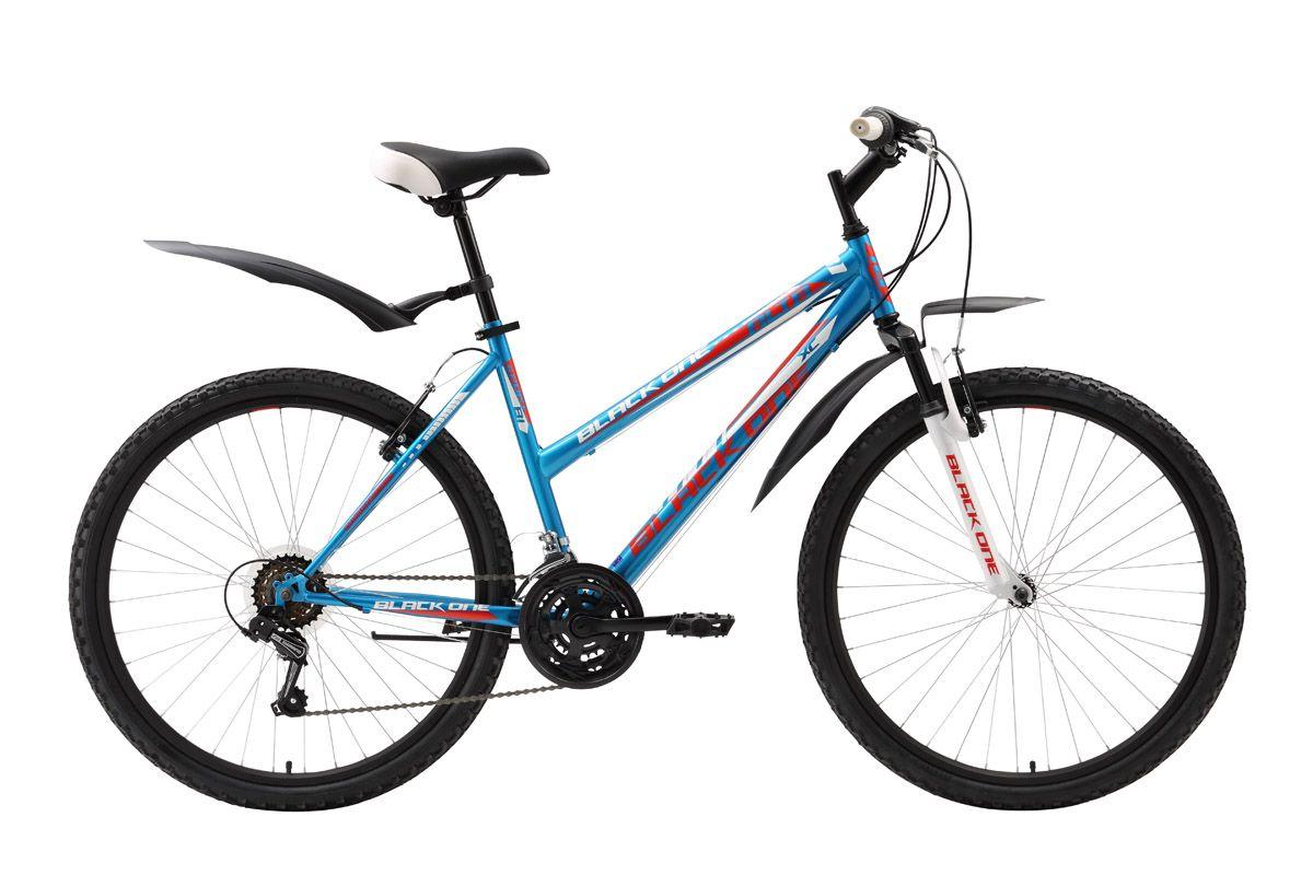 Велосипед Black One Alta (2016) розово-желтый 16