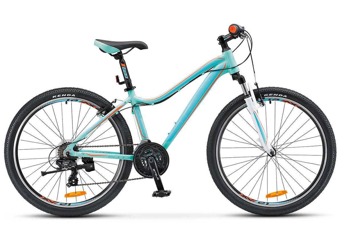 "Велосипед Stels Miss 6000 V (2017) голубой 15"""