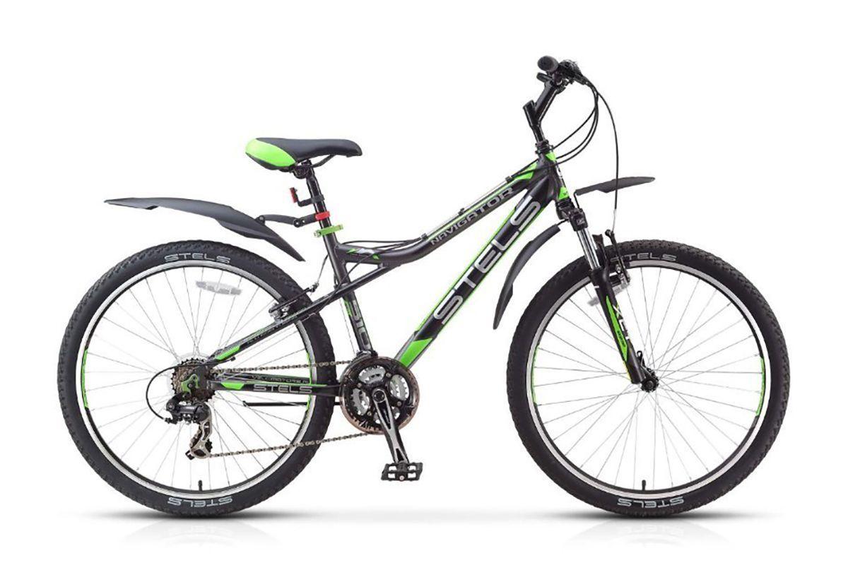 STELS Велосипед Stels Navigator 510 V 26 (2017) темно-серый 16 велосипед stels navigator 310 2016
