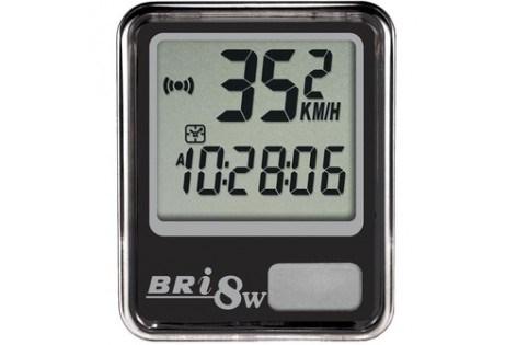 Велокомпьютер Echowell Bri-8W чёрный