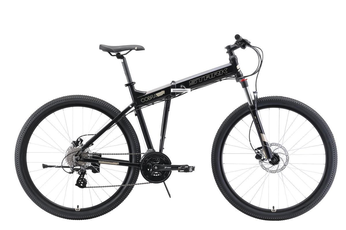 Велосипед Stark Cobra 29.3 HD 2019 чёрный-серый 18 д