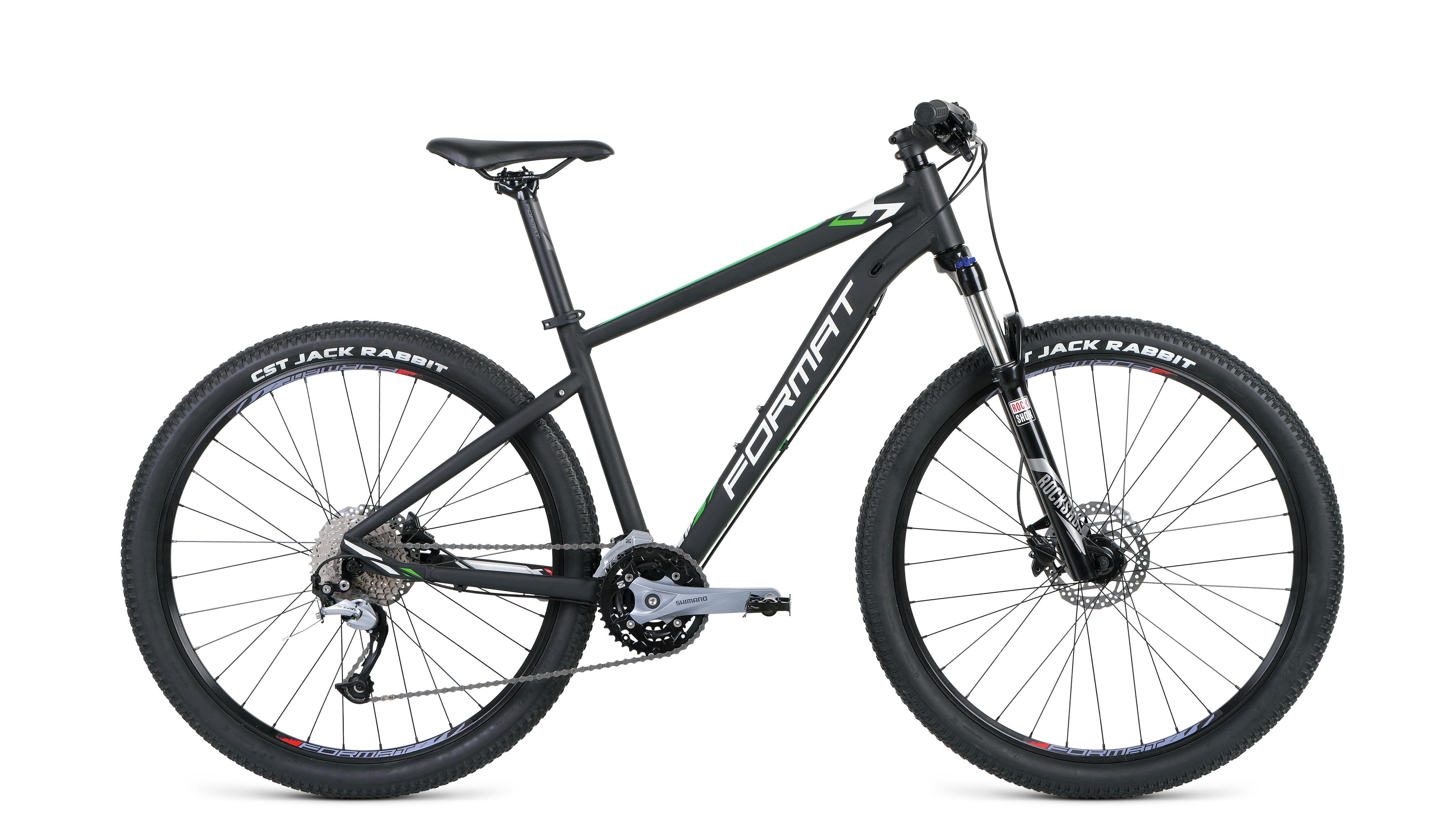 Велосипед FORMAT 1411 27.5 2019 черный матовый L