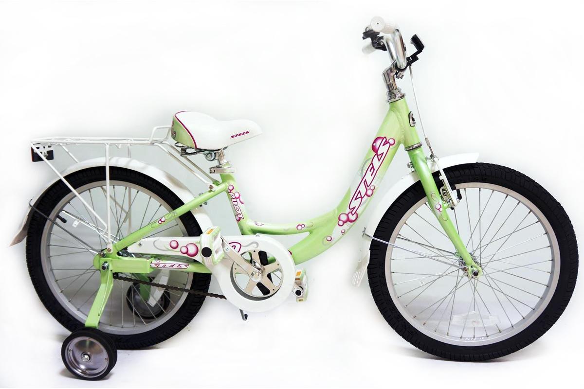 Велосипед Stels Pilot 210 Girl 20 (2016) салатово-зеленый 11