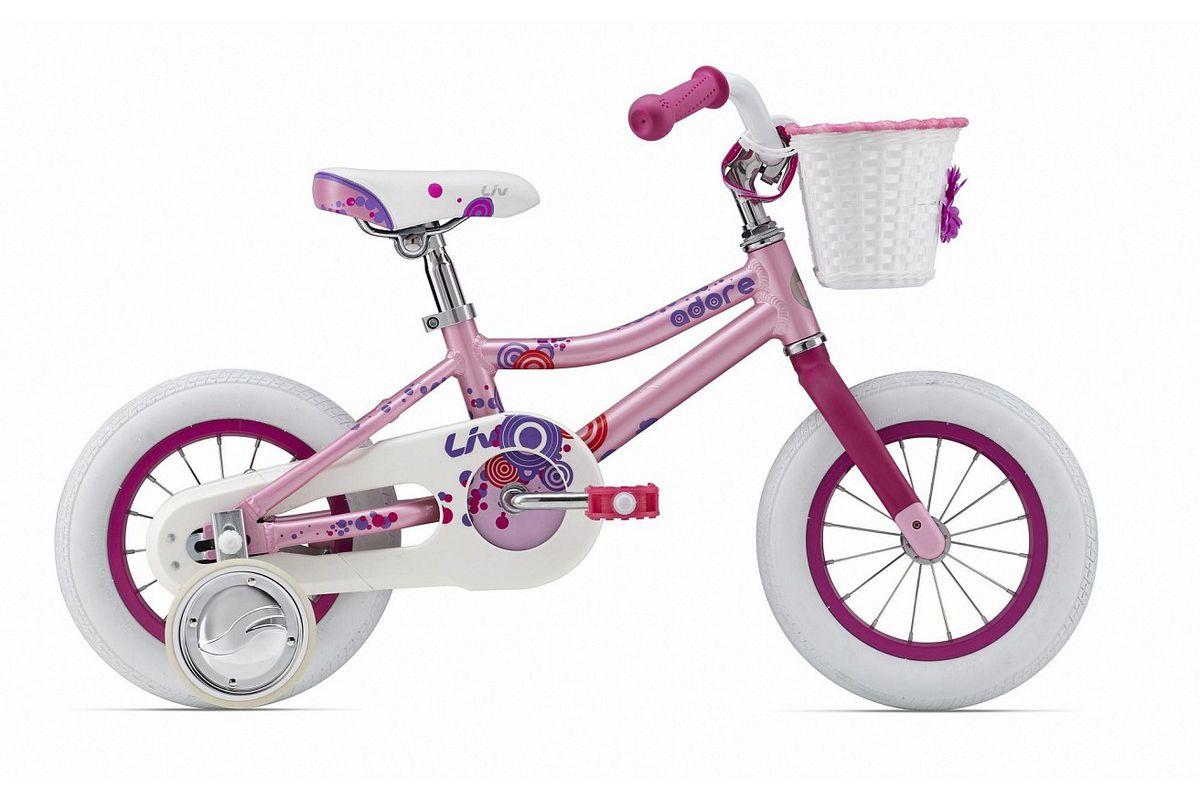 Купить со скидкой Велосипед Giant Adore C/B 12 (2015) розовый one size