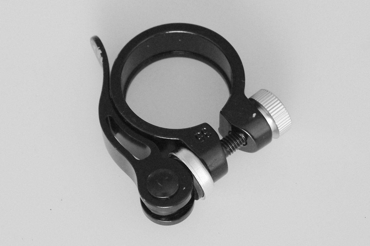 Хомут подседельный Kalloy XC-63 35мм чёрный
