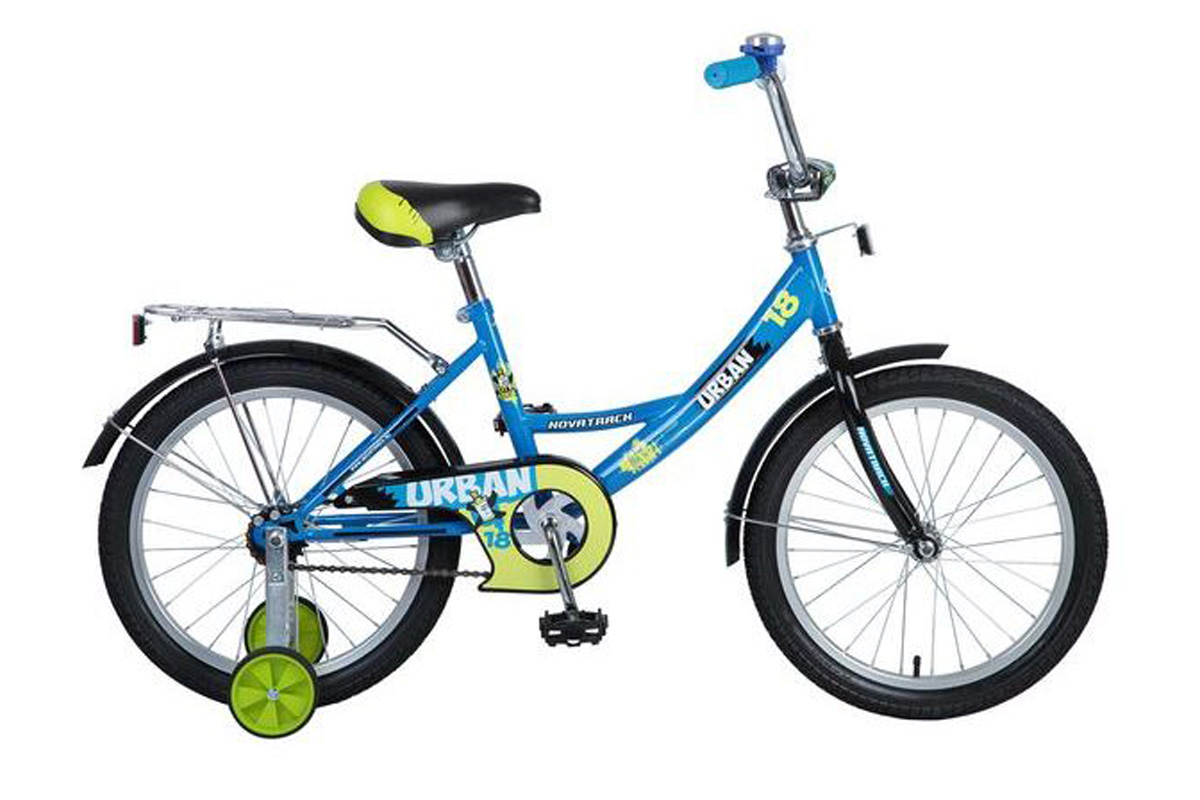 Велосипед Novatrack Urban 18 (2016) синий one size